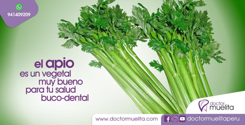 El APIO es muy bueno para tu Salud Buco-Dental