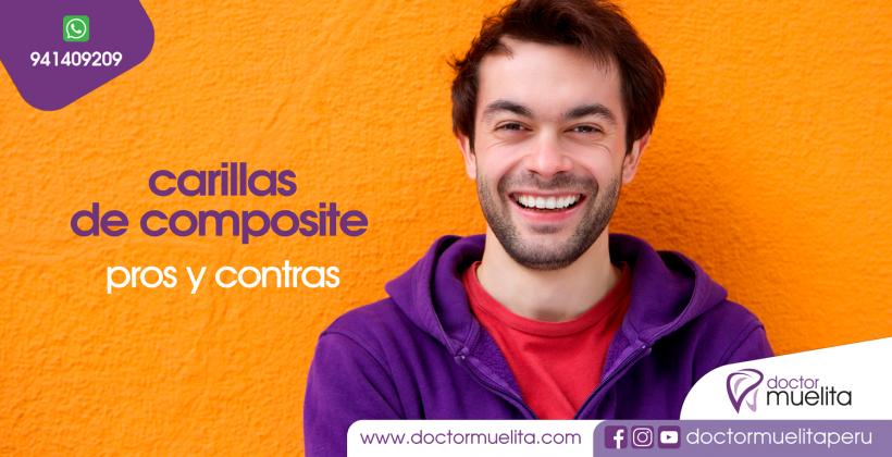 Carillas de Composite: Pros y Contras