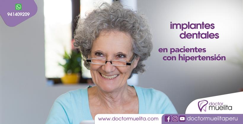 Implantes Dentales en pacientes con Hipertensión