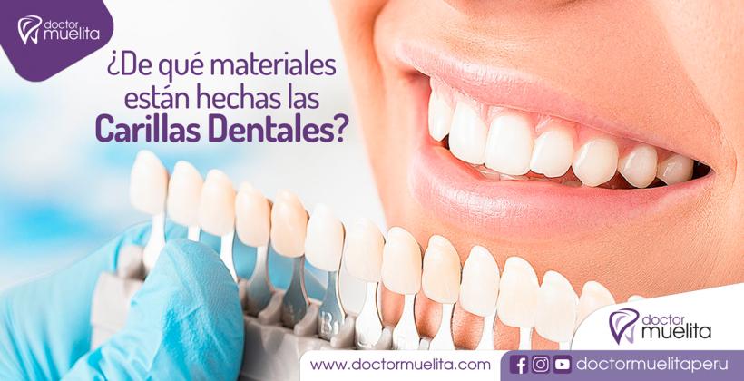 ¿De que materiales están hechas las Carillas Dentales?