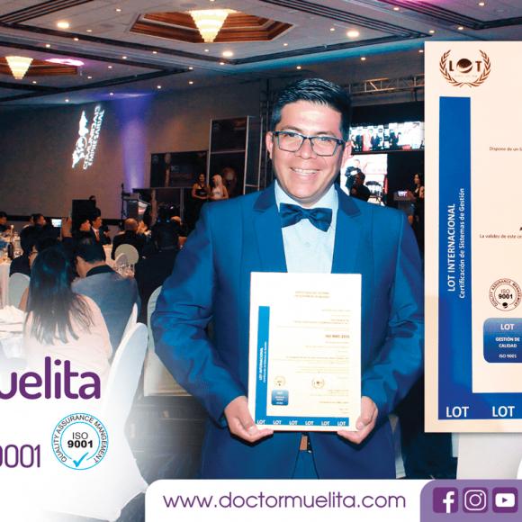Doctor Muelita obtiene Certificación ISO 9001