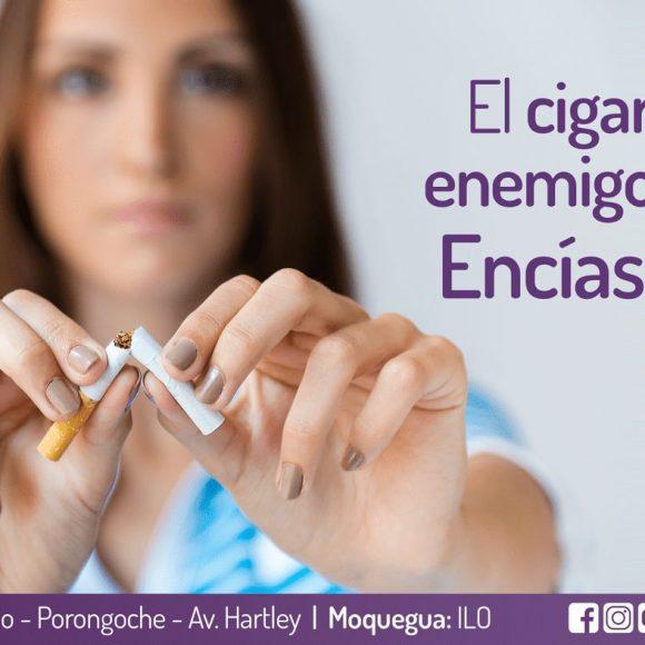 El Cigarrillo es enemigo de unas encías sanas