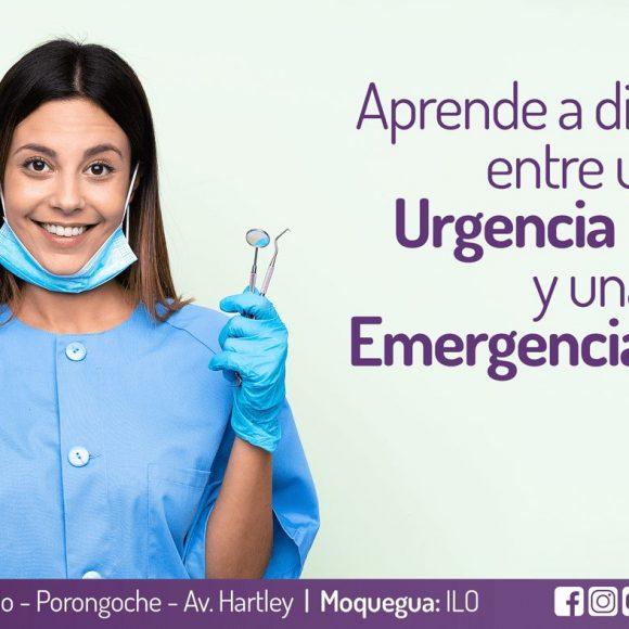 Aprende a diferenciar lo que es una urgencia y una emergencia en la odontología